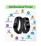 Smart Watch Fitness Trackers con Monitor della frequenza cardiaca IP67 Impermeabile Smartwatch Activity Trackke □ Schermo Grande con 11 modalità Sport