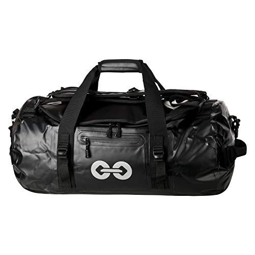 URBAN ZWEIRAD wasserdichte Reisetasche Duffel Bag - Transporttasche mit Rucksack-Funktion...