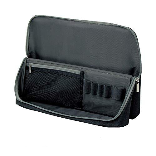 ソニック バッグインバッグ スマスタ ワイド ユートリム A4 ブラック UT-1905-D