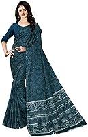 Naixa Women's Dola Silk Saree With Blouse Piece (NX- 1006_Navy Blue)