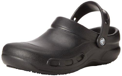 Crocs Bistro, Unisex - Erwachsene Clogs, Schwarz (Black), 43/44 EU