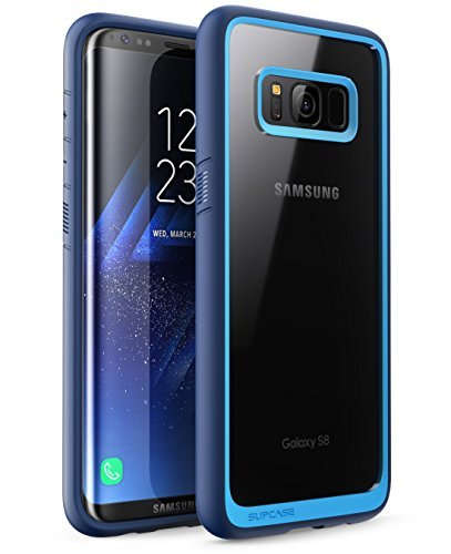 SUPCASE Unicorn Beetle Style Case Designed for Galaxy S8, Premium Hybrid Protective Clear Case for Galaxy S8 2017 Release (Navy)