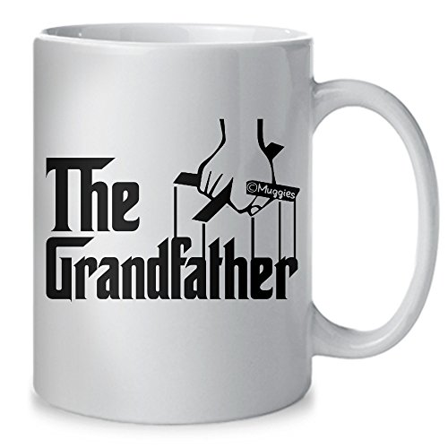 Muggies The Grandfather Coffee Mug - Unique Gift Idea For Dad And Grandpa Or Husband For Fathers Day, Birthday Or Christmas