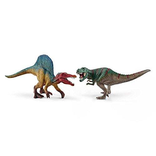 SCHLEICH GMBH Spinosaurus und TRex, klein, Schleich