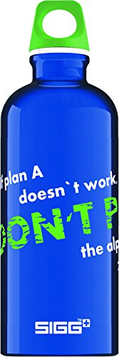 Sigg Don't Panic Traveller Trinkflasche , Blau