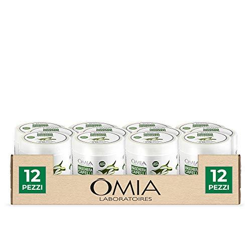 Omia Erboristica Maschera Capelli Aloe, 12 Pezzi x 500 ml