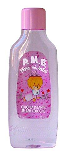 PMB Eau de Cologne Duftwasser für Kinder, 750ml Rosa