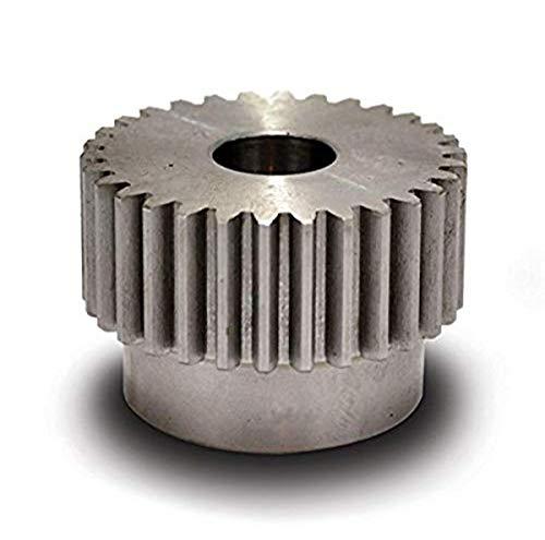 """Boston Gear YB321 Spur Gear, Steel, Inch, 16 Pitch, 1.000"""" Bore, 2.125"""" OD, 0.750"""" Face Width, 32 Teeth"""
