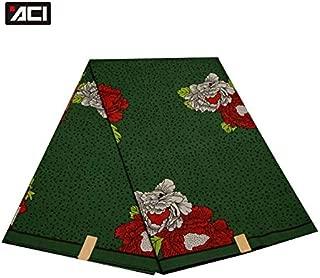 ACI Veritable Wax Hollandais African Ankara Fabric 6 Yards/Piece Veritable Wax Super Hollandais African Fabric Batik for Women
