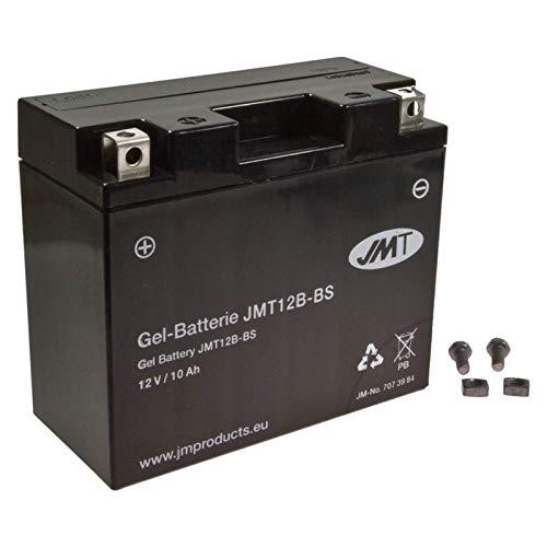 YT12B-BS JMT Gel Batterie für 848 848 Evo Baujahr 2011-2013