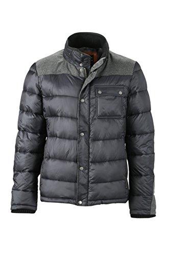 James & Nicholson Herren Jacke Jacke Winter Jacket schwarz (Coal-Black) XXX-Large
