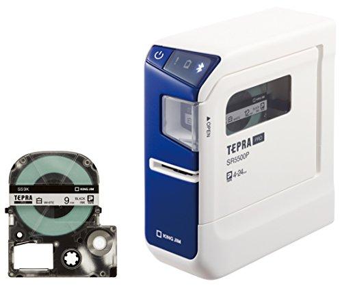 キングジム ラベルライター「テプラPRO」 テープセット SR5500PA