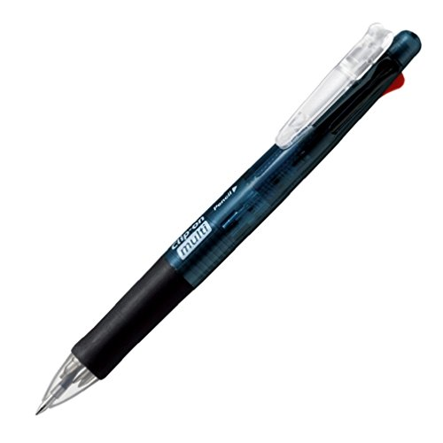 クリップオンマルチ [黒/赤/青/緑+シャープペンシル] 0.7mm 黒 P-B4SA1-BK