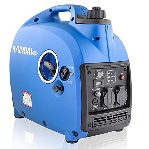 Hyundai 2kw Portable Petrol Inverter Generator , 4 Stroke, Easy Starting...
