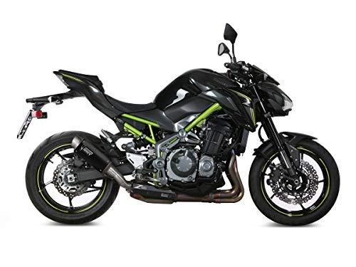 MIVV Silenciador GP-Pro Steel Black/Gorra de acero inoxidable Kawasaki Z900