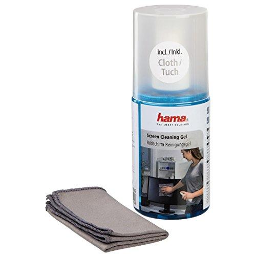 Hama Bildschirm-Reinigungsgel (Für Laptop, Tablet, Smartphone, LCD/TFT, LED, OLED, Monitore, inkl. Mikrofasertuch) 200 ml