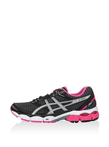 ASICS Damen Performance Gel-Pulse 5 G-Tx Sneaker, Schwarz Pink Weiß, 37.5 EU