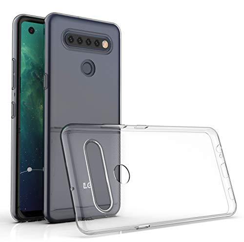 WenTian LG K41S / LG K51S Hülle, CaseExpert® Ultra dünn TPU Gel Handy Tasche Silikon Case Cover Hüllen Schutzhülle Für LG K41S / LG K51S