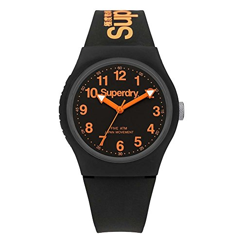 Superdry Men's Analogue Quartz Watch with Silicone Strap –...