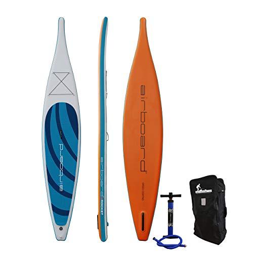 airboard Rocket Stand Up Paddle, aufblasbar, 427 x 69 x 15 cm, blau
