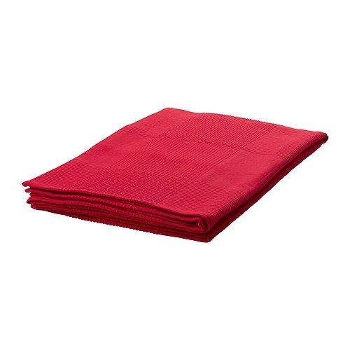 IKEA INDIRA - Colcha roja - 150x250 cm