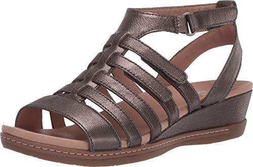 Dansko Women's Athena Pewter Sandals 6.5-7 M US