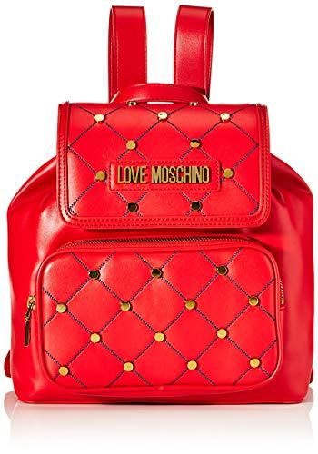 Love Moschino Damen Jc4096pp1a Rucksackhandtasche, Rot (Rosso), 15x27x33 centimeters