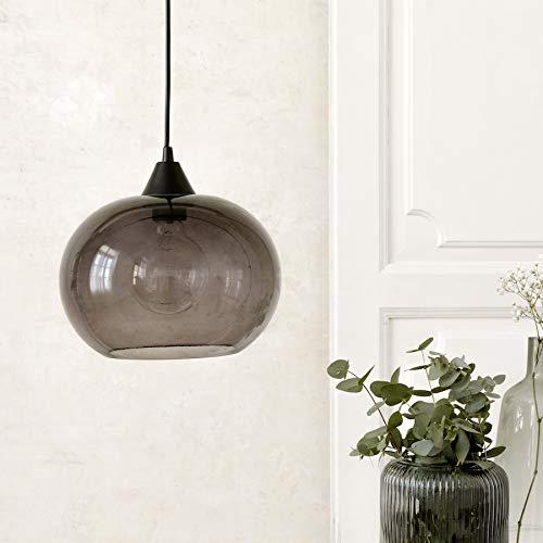 Kenay Home Lámpara De Techo Lide, Negro, 25x18x25cm (WxHxD)