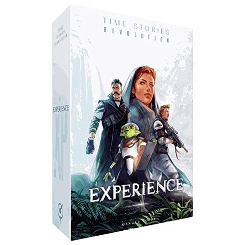 Asmodee Italia- Time Stories Ciclo Blu Revolution: Experience, Expansión juego de mesa,...