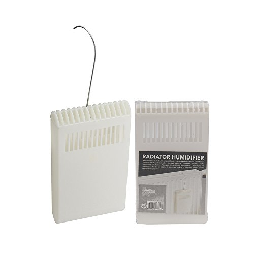 Metaltex 288502 - Humidificador de plástico para radiador con gancho
