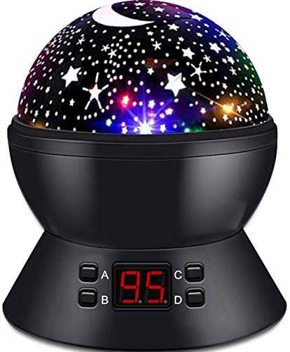 Star Sky Night Lamp Sets for Kids Night Lighting Lampshades with Star Projector Starry Night Lights for Boys Girls Birthday Gifts for 3 4 5 6 7 8 9 10-12 Year Old Kids Christmas Xmas Gift for Children