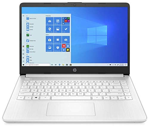 HP 14s-fq0510sa Full HD White Notebook, AMD Athlon 3020e @ 1.20GHz (up to 2.60GHz), 4GB, 64GB, Windows 10 Home (S Mode), AMD Radeon Graphics