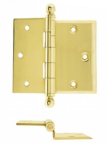 House of Antique Hardware R-04DE-165-UL Brass 3 1/2