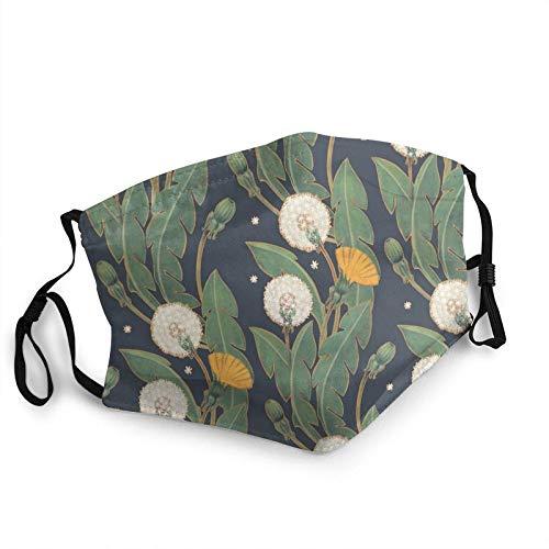 Diente de león sin costuras patrón almohada nueva a prueba de sol bufanda cara bufanda bandana bandana Headwear