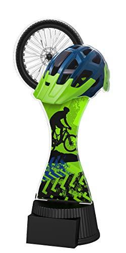 Trophy Monster Mountain Bike Ciclismo Award Free Inciso Piastra Trofeo Deal per Scuola, Bambini, Grande Azienda, Realizzato in Acrilico Stampato (190 mm)