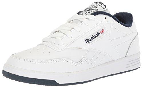 Reebok Men's Club Memt Fashion Sneaker, White/Collegiate Navy, 7 M US