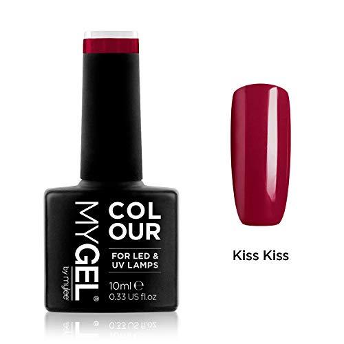 MyGel Nagellack von MYLEE (10ml) MG0004 - Kiss Kiss UV / LED Nail Art Maniküre Pediküre für den professionellen Einsatz im Wohnzimmer und zu Hause - Langlebig und einfach...