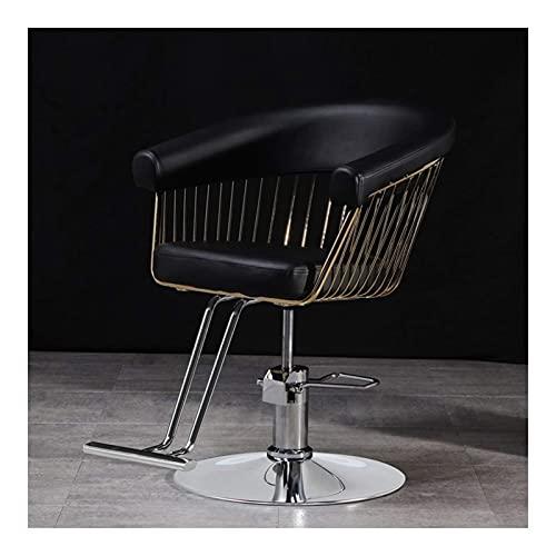 Sillas de peluquería para peluqueros, tatuadores Sillas de peluquero Sillón de peluquero reclinable hidráulico resistente Sillón de peluquería Sillón de salón Sillón de tatuaje Champú Equipo de s