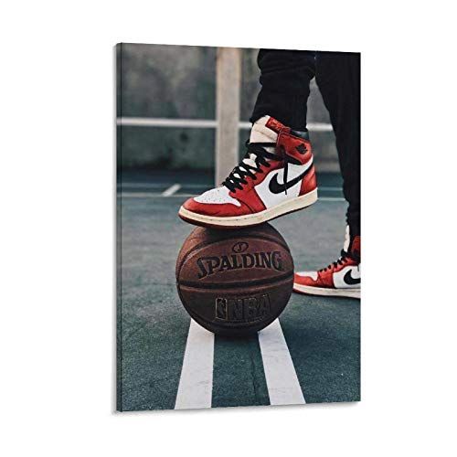 LCYB Aesthetic - Póster decorativo de baloncesto (50 x 75 cm)