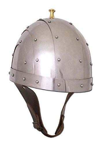Byzantin Casque, 2 mm acier, Taille M – schaukampftauglich