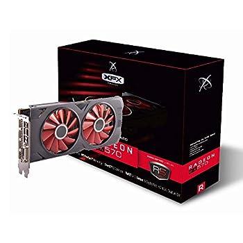 XFX Radeon RX 570 RS XXX Edition 1286MHz 8gb GDDR5 DX12 VR Ready Dual BIOS 3xDP HDMI DVI AMD Graphics Card  RX-570P8DFD6