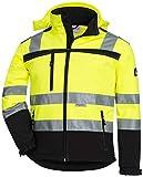 ACE Firefly Kinder Softshelljacke - Reflektierende Jacke für Mädchen & Jungen - Gr. 140