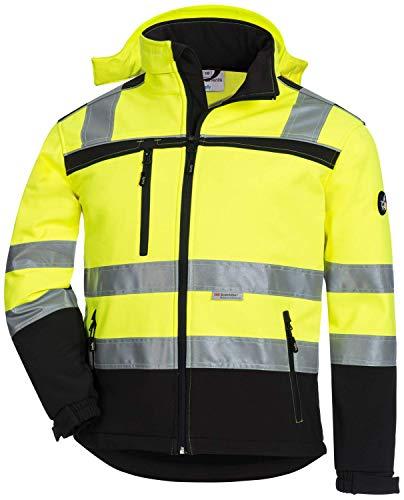 ACE Firefly Kinder Softshelljacke - Reflektierende Jacke für Mädchen & Jungen - Gr. 128