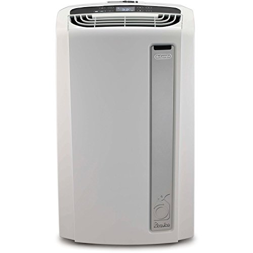 DeLonghi 4-in-1 Portable Air Conditioner, Heater, Dehumidifier & Fan + Remote Control & Wheels, Extra Large Room 600 sq. ft, White