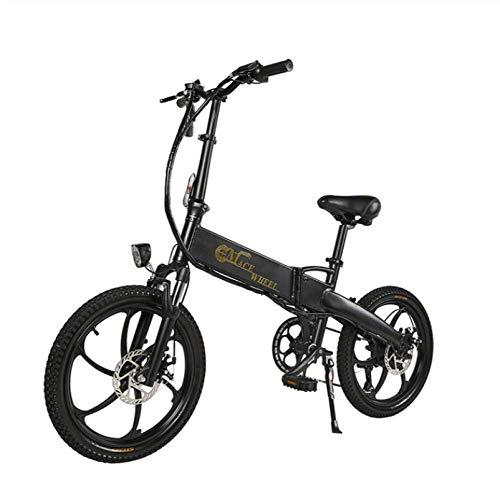 WXJWPZ Bicicleta Eléctrica Plegable Bicicleta Eléctrica Plegable De 20 '' Motor 48V...