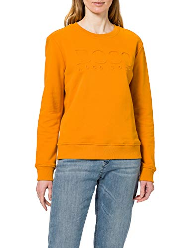 BOSS Damen C_Elaboss 1 10234663 01 Sweatshirt, Open Yellow755, M