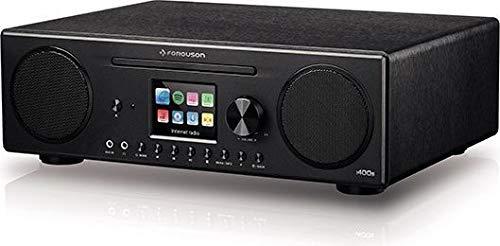 Ferguson Regent Digitales Internet Radio i400s DAB, DAB+ & FM | Spotify, Bluetooth, Wi-Fi, WLAN, CD-Player, USB, Kopfhörerausgang 3,5 mm, AUX | Zugang zu Ihrem Heim-Multimedia-Netzwerk