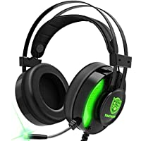 Taotique 7.1 Surround Sound Noise Cancelling Gaming Headphones with Mic for Xbox One