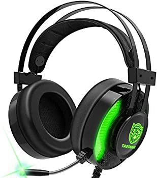 Taotique 7.1 Surround Sound Noise Cancelling Gaming Headphones with Mic