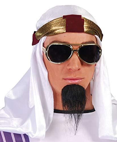 hommes Blanc Arabe Arabe coiffure turban arabe COUVERTURE DE TÊTE COSTUME DÉGUISEMENT CHAPEAU ACCESSOIRE - Blanc, Blanc, One size
